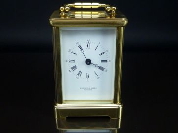 HAMITLON & INCHES CARRIAGE CLOCK