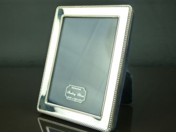 SILVER PHOTO FRAME 105mm x 80mm