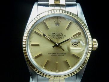 ROLEX DATEJUST GOLD & ST. STEEL