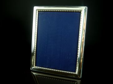 SOLID SILVER PHOTO FRAME 235mm X 185mm
