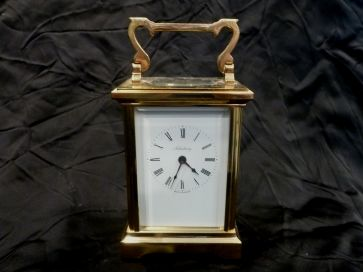 SALISBURY BRASS CARRIAGE CLOCK