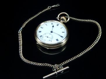 DENNISON STAR POCKET WATCH