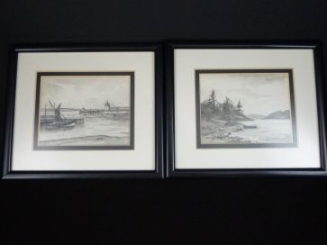 HARBOUR & LOCH SCENES BY EMMA BLACK