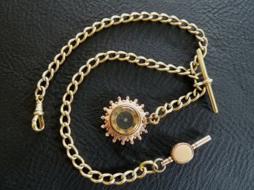 GOLD POCKET WATCH CHAIN