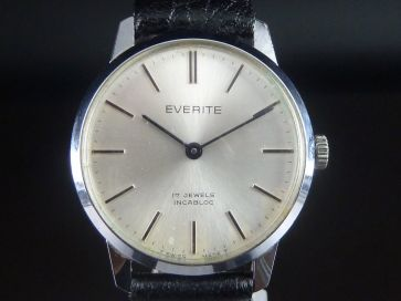 EVERITE 17 JEWELS WATCH