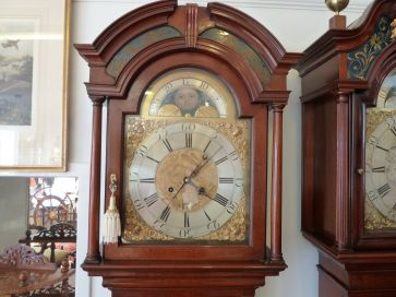 ISAAC HADWEN GRANDFATHER CLOCK
