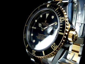 ROLEX SUBMARINER STEEL & GOLD 16613