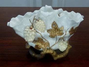 MOORES BERRIES & FOLIAGE VASE