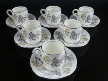 COALPORT CAMELOT JAGUAR COFFEE SET