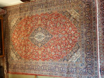 KASHAN CARPET  3.90 x 2.91mtr