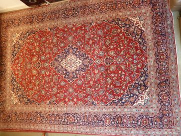 KASHAN CARPET  4.35 x 3.00mtr