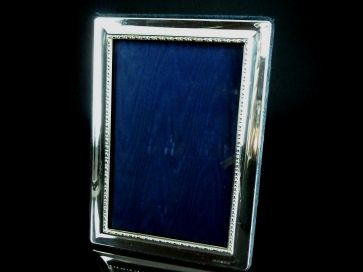 SILVER PHOTO FRAME 180MM X 130MM