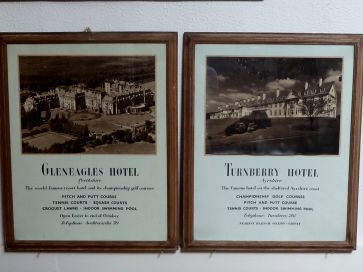 GLENEAGLES & TURNBERRY VINTAGE ADVERTS