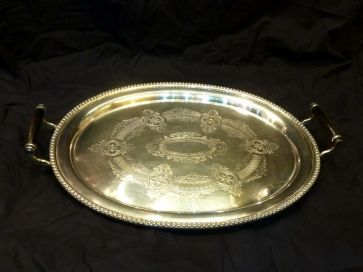 LARGE HANDLED SERVING TRAY