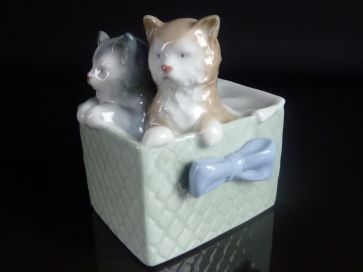 NAO KITTENS IN BASKET