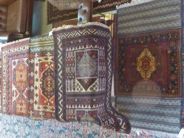SELECTION OF PRAYER RUGS