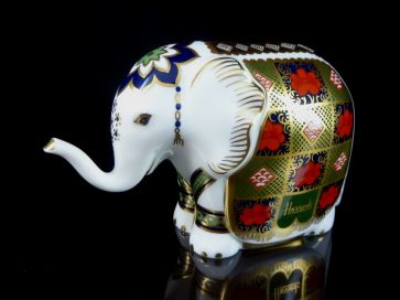 CROWN DERBY HARRODS ELEPHANT