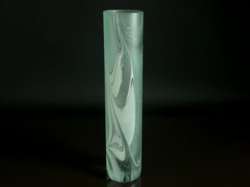 SIGNED ART GLASS VASE