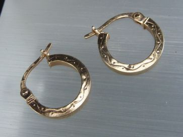 9K GOLD EARRINGS