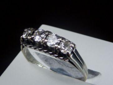 4 STONE DIAMOND RING