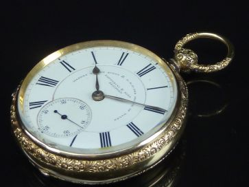 18CT FATTORINI & SONS POCKET WATCH
