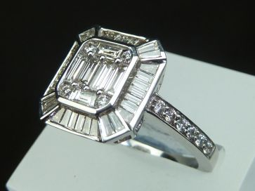 BAGUETTE DIAMOND RING *NEW*