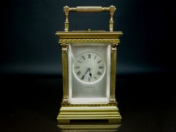 R.W. SORLEY REPEATING CARRIAGE CLOCK