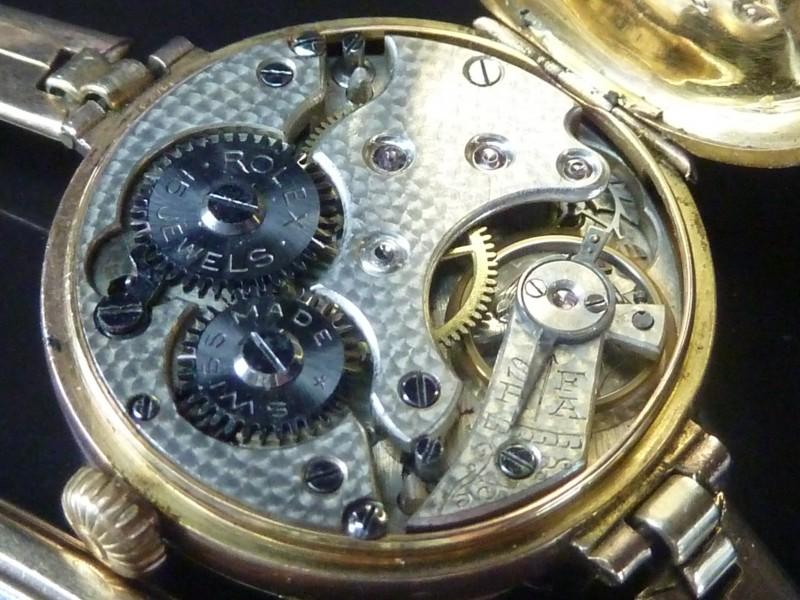 Watt S Antiques Rolex 1914 Ladies 9ct Watch