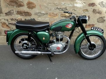 BSA 250 C15 STAR MOTORCYCLE