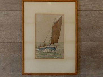 YAWL FISHING BOAT BY P.F. ANSON