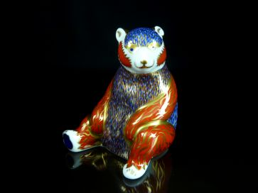 ROYAL CROWN DERBY HONEY BEAR