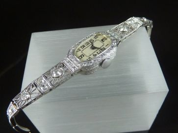 ART DECO DIAMOND COCKTAIL WATCH