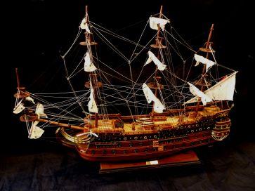 SAN FELIPE WOODEN SHIP MODEL