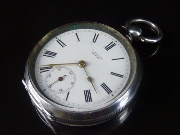 GALWAY SILVER POCKET WATCH