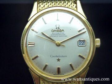 OMEGA CONSTELLATION 18K GOLD