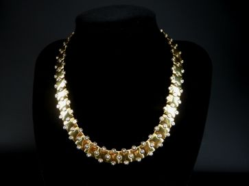 DIAMOND NECKLACE & BRACELET SET