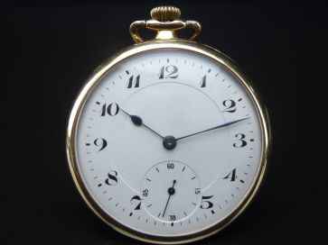 EBERHARD & Co. 14K POCKET WATCH