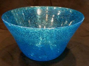 ART GLASS BOWL / VASE