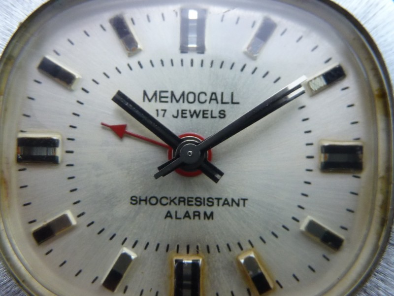 Watt S Antiques Memocall Alarm Watch