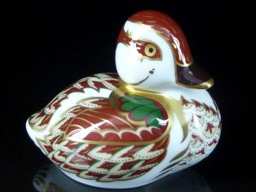 CROWN DERBY BAKEWELL DUCKLING