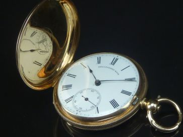 T. RUSSELL & SON POCKET WATCH
