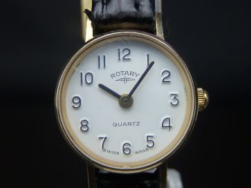 ROTARY 9CT GOLD LADIES WATCH