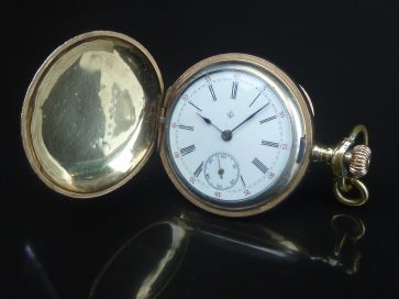 LADIES HUNTER POCKET WATCH