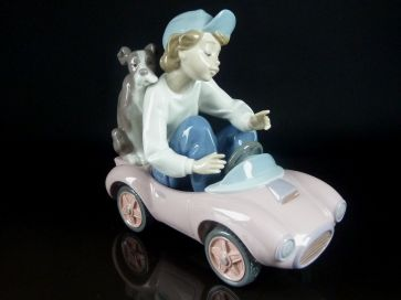 LLADRO OUT FOR A SPIN #5770