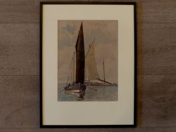 FIFIE FISHING BOATS BY P.F. ANSON