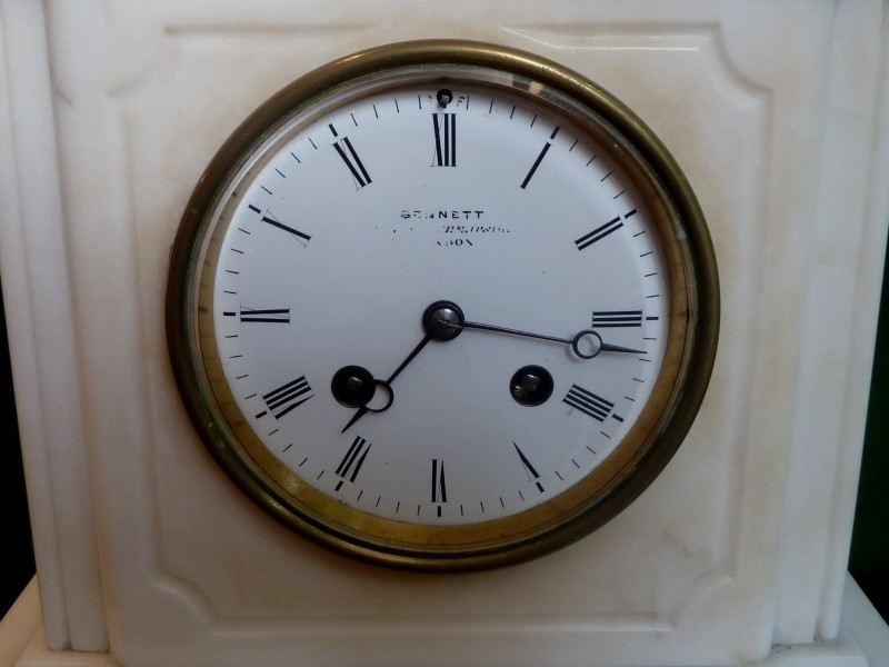 Watt S Antiques French Marble Mantle Clock