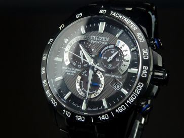 CITIZEN PVD BLACK ECO-DRIVE CHRONO