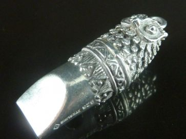 SILVER OWL WHISTLE