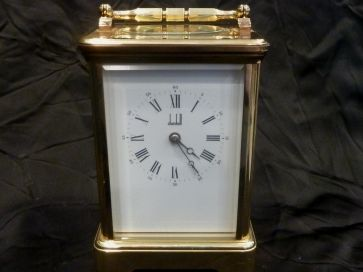 DUNHILL CHIMING CARRIAGE CLOCK