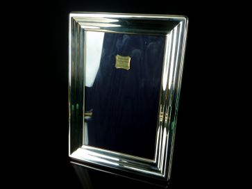 SOLID SILVER PHOTO FRAME 188mm X 138mm